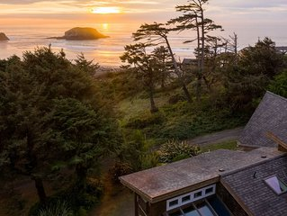 4800 Sq Ft of Pure Luxury, Ocean View, Private near Cannon Beach, 2 King beds