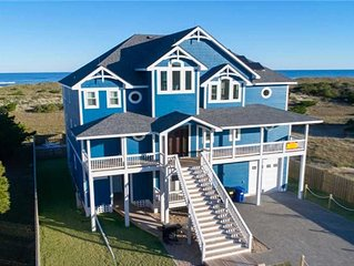 Spacious Oceanfront Home- Pool, Hot Tub, Elevator, Game Room, Breathtaking Views