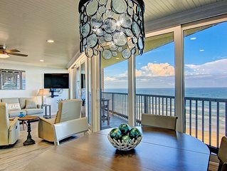 Sea Gull #808: Beachfront 2 Bedroom 2 Bath with Spectacular Views and 24 Hour Ma