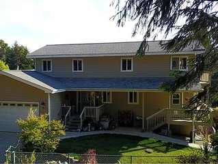 Updated Family & Pet Friendly home. Amazing Views! Close to Beaches & Trails!