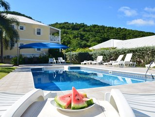 Luxury Villa Jolly Harbour & five Beaches close by.