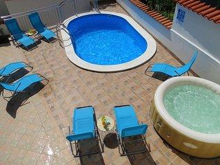 Villa in Crikvenica,Meerblick,Pool,Strandnah,Covid19 Reinigung,bis 6 Pers.