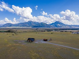 New House on 20 acres with captivating views close to Yellowstone National Park!