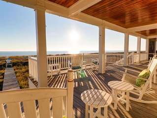 Chirico House: 6 BR / 6.5 BA rental homes in Bald Head Island, Sleeps 15