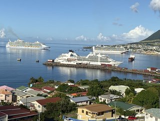 La Vue de Basseterre - Apartment with stunning sea views (Nigel - *******-6113)