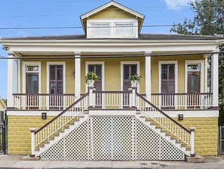30% Off Spring/Summer 4BR/2.5BA Treme House Sleeps 17!!