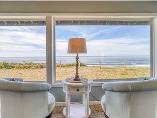 Newly Remodeled Oceanfront Home with Amazing Views, Hot Tub, and Game Room