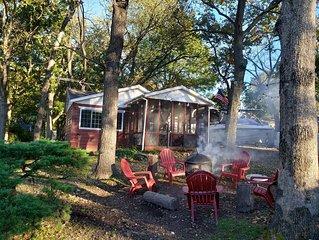 Little Red Cabin on Monkey Island