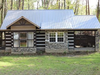 'Sweet Dreams'  - Brand New Cabin Near Mentone and Desoto State Park