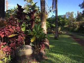 Peaceful Getaway Apartment in Kilauea's Rift Zone Paradise