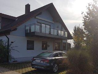 Ferienwohnung (65qm) im Dachgeschoss mit Balkon