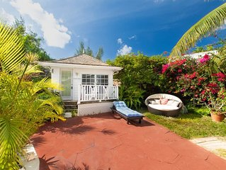 Garden Cottage  - Oceanfront -