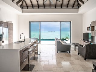 New Modern Beachfront 3bdrm/3bath with pool and incredible view!!