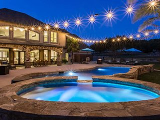 Ranch Estate With Pool and 4 Hole Golf Course! Sleeps 26 - Luxury Vacation Exper