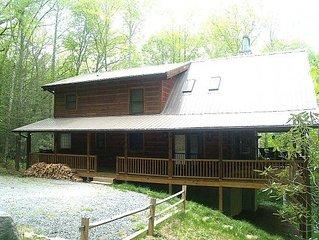 Log Heaven 1 or 2 Bedroom Log Cabin in Banner Elk NC