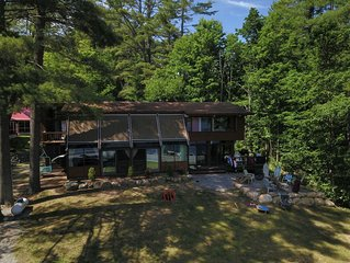 LODGE * BIRCHWOOD COTTAGES AT LOON LAKE. Adirondack Family Friendly Waterfront