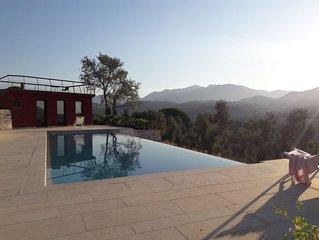 Au calme, entre Rome et Naples villa de charme avec piscine proche Sperlonga/mer