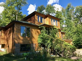 4BR Escape in Saranac Lake, 8 Miles from Lake Placid
