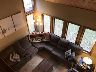 The perfect mountain getaway nestled in the woods 2 min from downtown Windham.