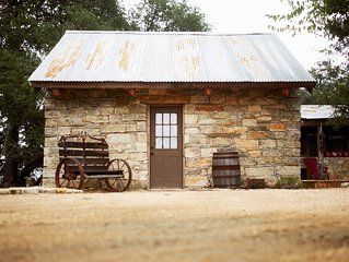 Cozy 1880's Stone Retreat in the heart of the Hill Country
