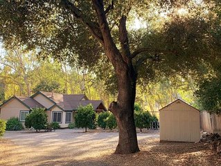 Peaceful Ojai Arbolada Cottage