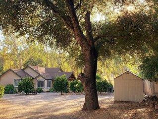 Peaceful Ojai Arbolada Cottage