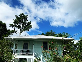 Eco friendly, Tropical paradise,spacious farm stay, conveniently located in Hilo