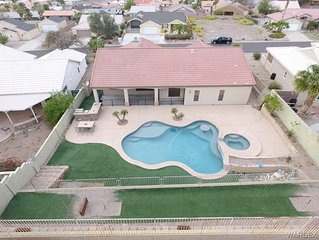 Luxury Pool Home 5 MINUTES from Lake, River, & Casinos!!