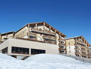 Appartement de Montagne avec Wi-Fi GRATUIT + Accès Piscine et Sauna