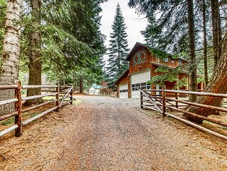Studio apartment - country living close to downtown Cle Elum, Roslyn, & golf