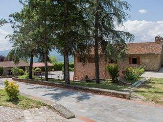 Villa con piscina alle porte del Parco Nazionale Foreste Casentinesi