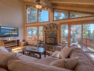 Kings Beach Family Retreat | Lake Views & Hot Tub