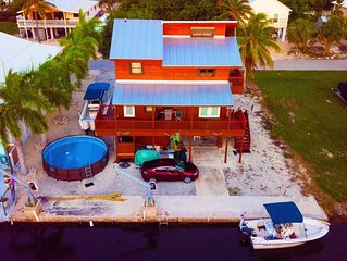 Big Pine Key, 3 BR, 2 1/2 Bath, Private Canal, Close to everything, KW