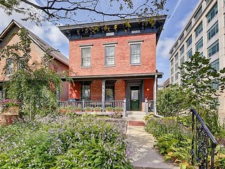 Stay in the heart of downtown Indianapolis in style in this grand historic home!