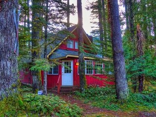 Pet friendly cabin close to hiking trails with hot tub, Wifi and spacious yard