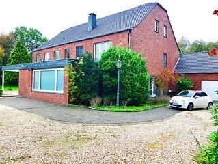 Ferienhaus EMG Kempen Venlo, Alleinlage nahe Düsseldorf, große Familien Gruppen