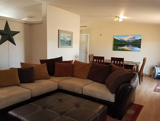 Great for ATV's and TOY'S!  Rent 6 nights and 7th is free!