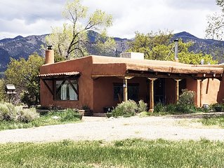 the casa from the driveway .