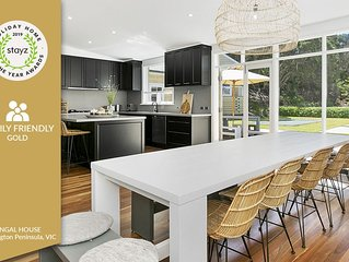 Fingal House - Stayz Holiday Home Awards Gold Winner 2019