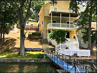 Large Lakefront Home! Only 12 steps to the Lake!