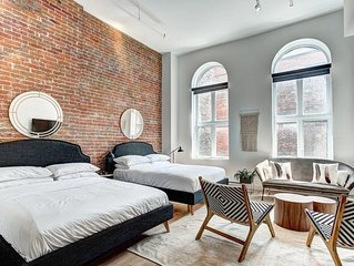2 bedroom Loft in old Montreal