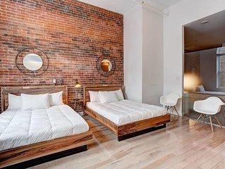 2 bedroom Loft near Rue Notre-Dame Ouest