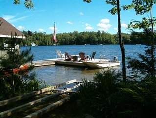 Lakefront Family Cottage on Lake Rosseau 1900 sq.ft.