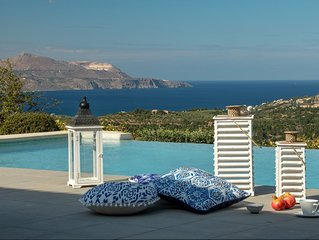 Sea View Breathtaking Armonia Villa!  Last Minute Special Offer for May 07 - 14!