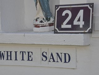 Maison 4 chambres, terrasse, jardin, à 5' à pied du centre et de la plage
