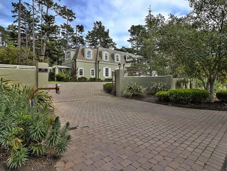 Classic Chateau in the heart of Pebble Beach — cross road to entrance of PB Golf