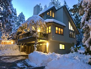 Book your winter retreat on the edge of the Stanislaus National Forest!