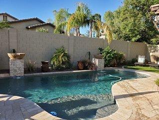 Beautiful 5 bedroom, 4 bath home (sleeps 10 adults & 5 children), private pool!