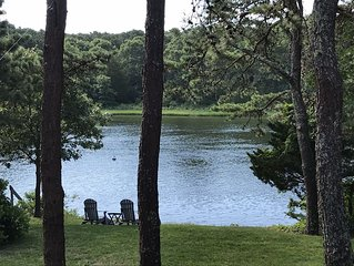 Waterfront Luxury Home on Waquoit Bay! Direct Access to Water from Backyard!