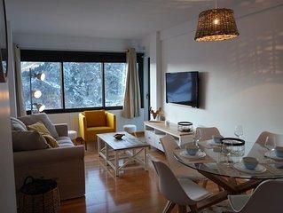 appartement chaleureux à 5 min à pieds des pistes de skis